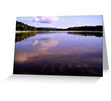 Reflex Water Greeting Card