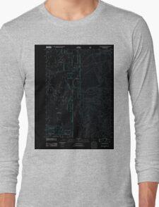 USGS Topo Map Oregon The Bull Pasture 20110719 TM Inverted Long Sleeve T-Shirt