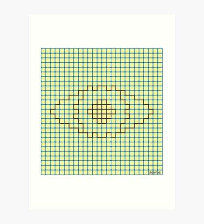 I See You (The Neon Eye) Art Print