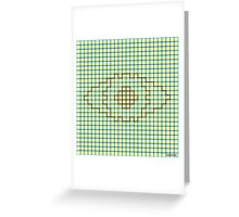 I See You (The Neon Eye) Greeting Card