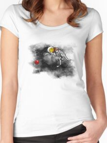 Mobeus Fetch Women's Fitted Scoop T-Shirt