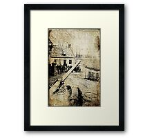 British Guns Framed Print