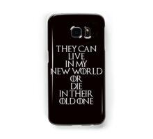 Game Of Thrones - Daenerys Targaryen Quote Samsung Galaxy Case/Skin