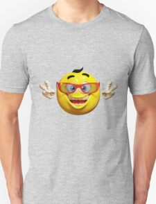Happy Emoticon Unisex T-Shirt