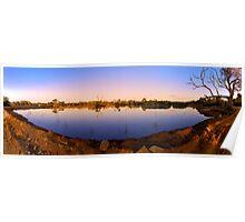 Muloorina lagoon Poster