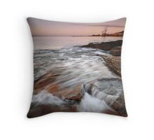 """Rush"" Throw Pillow"