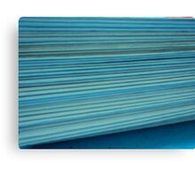 paper folds Canvas Print