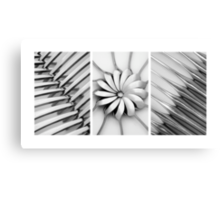 Cutlery Set Graphic Canvas Print