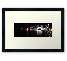 Tweed Lights from Jack Evans Boat Harbour Framed Print