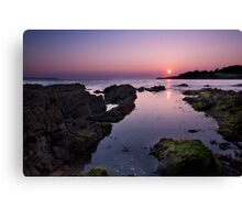 Dawn Reflections - Belfast Lough Canvas Print