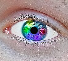 Rainbow Eye by bullardm2001