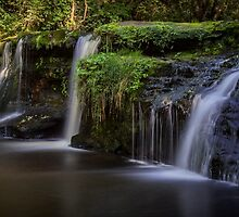 Black Devon Waterfalls by Jeremy Lavender Photography