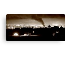 Belfast Burning Canvas Print