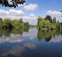 River Thames near Sonning by AndrewSansom
