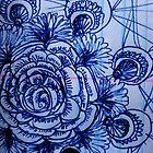 Rose doodle by Crystal Charlotte