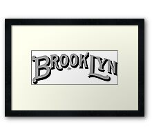 Brooklyn Classic by Tai's Tees Framed Print