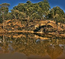 In Reflection - Hill End, NSW Australia - The HDR Experience by Philip Johnson