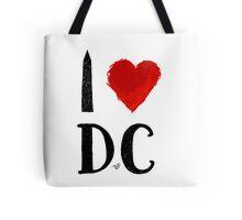 I Heart DC (remix) by Tai's Tees Tote Bag