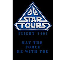 Star Tours 1401- BLUE Photographic Print