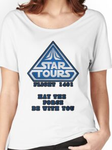 Star Tours 1401- BLUE Women's Relaxed Fit T-Shirt