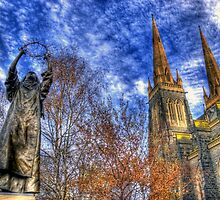 St. Catherine @ St. Patrick's by Robert  Welsh
