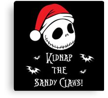 Nightmare Before Christmas - Sandy Claws v2.0 Canvas Print