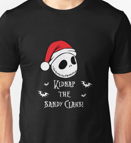 Nightmare Before Christmas - Sandy Claws v2.0 Unisex T-Shirt