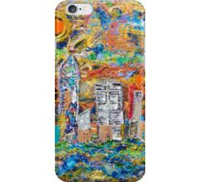 3D Layered Resin City Art Coffee Table by Chicago Artist Gary Bradley iPhone Case/Skin
