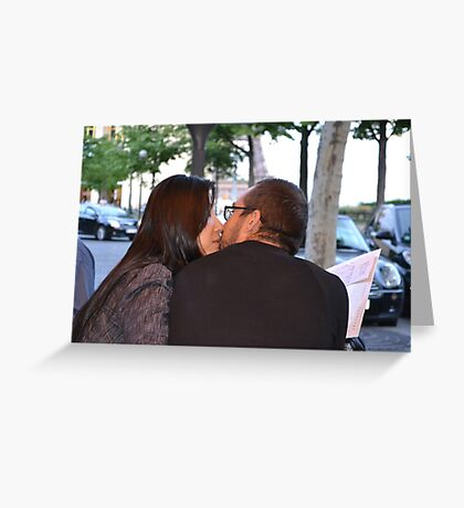 Kiss #4 Greeting Card
