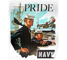 NAVY PRIDE ~ Recruiting Poster ~ War ~ 0539 Poster