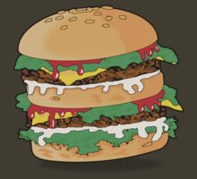 Cartoon Hamburger by mdkgraphics
