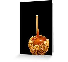 Caramel Apples Greeting Card