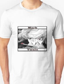 Mark Twain Caricature Unisex T-Shirt