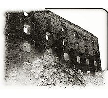 Collapsed Building III Photographic Print