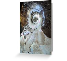 TIME FREEZE XX Greeting Card