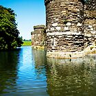Beaumaris Castle by Barry James Roberts