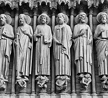 Last Judgment Portal (c.1230): Apostles by Charuhas  Images
