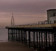 Pier at Susnet by Barry James Roberts