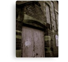 Decay of Religion Canvas Print