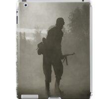 Soldier from world war iPad Case/Skin