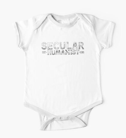 Secular Humanist by Tai's Tees One Piece - Short Sleeve