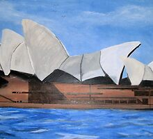 Sydney Opera House by GEORGE SANDERSON
