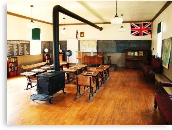 No. 14 Schoolhouse (Petrolia Discovery) by Graham Beatty
