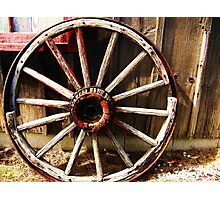 Wagon Wheel (Petrolia Discovery) Photographic Print