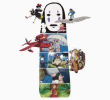 No Face-Hayao Miyazaki Films One Piece - Short Sleeve