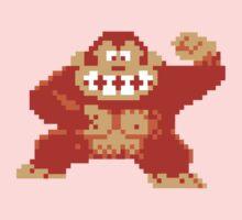 Donkey Kong 8 Bit Kids Clothes