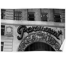paramount hard rock building - nyc Poster