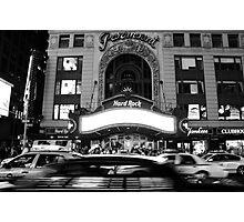 paramount building new york city Photographic Print