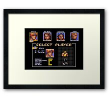 Streets of Rage 3 – Select Axel Framed Print