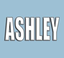 ASHLEY, Name, Tag, Ash, meadow, forest clearing, Given name Kids Clothes